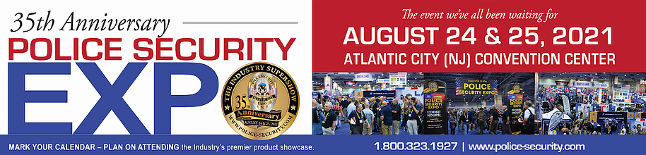 Police Security Expo 2021 event banner